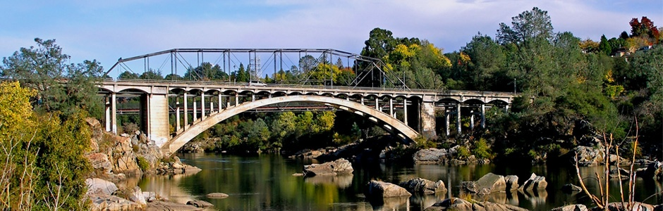 The Rainbow Bridge in Folsom, CA